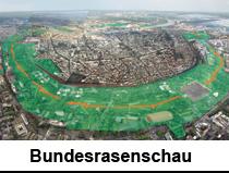 BUNDESRASENSCHAU-federal lawn show Ralf Witthaus LandArt L
