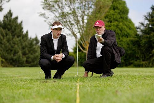 Ralf Witthaus und Willem de Lange in Neuseeland Foto Harald Neumann HN12101560-