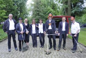 Rasenmäherzeichnung_Lengerich_Ralf_Witthaus_LWL-Klinik Verwaltung-Foto_Detlef_Dowidat